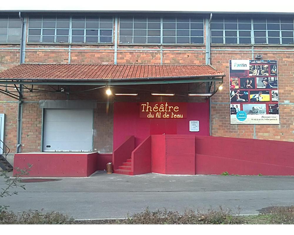 Théâtre du Fil de l'eau – ville de Pantin